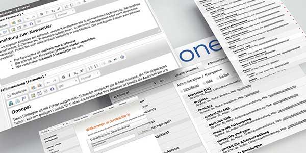 echonet - Digitalagnetur, Online-Software, Datenbanken